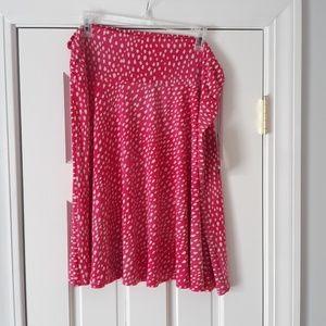 NWT: Pink Aline Skirt